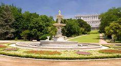 Campo del Moro. Madrid. Jardines de Palacio.