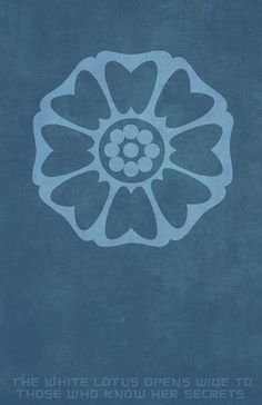 Order of the White Lotus by stygianxiron I love this design