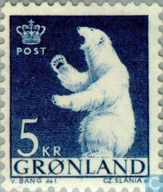 Postage Stamps - Greenland - Polar Bear
