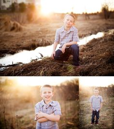Click to See More! Northern Virginia Children's Photography. Winchester VA Children's Photographer. 9 Year Old Boy Poses. Outdoor children's portraits. www.kensiem.com | Northern Virginia Photographer