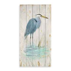 Blue Heron Art by Arnie Fisk - by AllPosters. Tole Painting, Painting On Wood, Painting & Drawing, Watercolor Paintings, Bois Intarsia, Diy Décoration, Pallet Art, Coastal Art, Blue Heron
