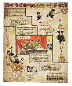 Tavola della serie 'Tales of the Jungle Imps', di Wilson McCay, pubblicata sul «Cincinnati Enquirer» il 23 marzo 1903.