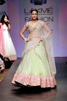 StyleVia: Anushree Reddy Lehnga and Sarees for Amazing Wedding brides Wedding Wear