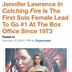 I'd love to know how many films were made with a solo female lead between those years and compare that number to the number of films made with a male solo lead. I'm quite positive that time frame wouldn't have been so shamefully long, if filmmakers would just take a chance that women are *gasp* entertaining enough to make $$$ at the box office.