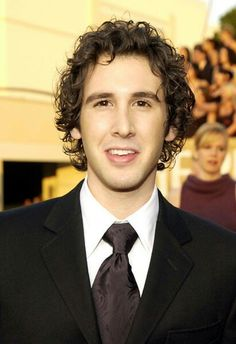 Josh Groban in the suit