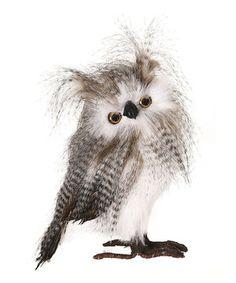 Love this Zebra Owl Figurine by Regency International on #zulily! #zulilyfinds