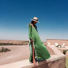 bakchic - Green is Peace…#bakchic #kaftan #morocco #love