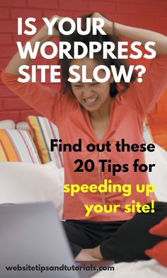 How you can speed up a slow WordPress website with these tips, from plugins you need to get, plugins you need to remove & what web host you should switch to Wordpress For Beginners, Seo For Beginners, Website Down, Best Seo Tools, Progressive Web Apps, Website Optimization, How To Run Faster, Wordpress Plugins, Blog Tips