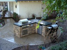 southwest designs for built-in barbeques | bbq design