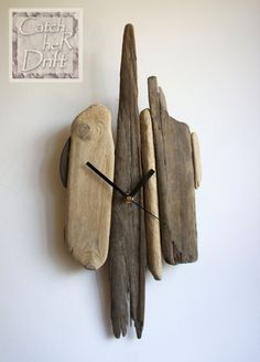 Driftwood Clock / Driftwood Decor / Driftwood Art