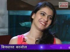 Kajol Special Interview in Marathi on IBN Lokmat