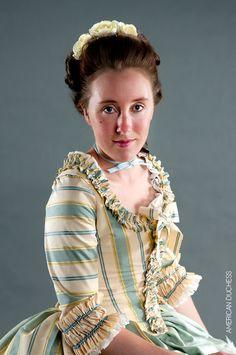 American Duchess: 1770s Parisian Gown