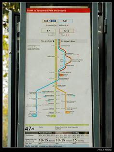 倫敦公車站牌的設計 @ 五色鳥和飛魚的旅英札記 :: 痞客邦 PIXNET ::