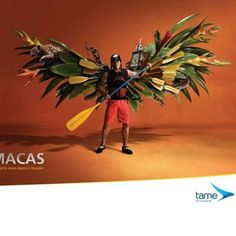Tame Ecuador Airlines: Spread Your Wings - Social Ads Funny Advertising, Creative Advertising, Advertising Poster, Advertising Design, Advertising Campaign, Street Marketing, Guerilla Marketing, Colors Of Fire, Creative Poster Design