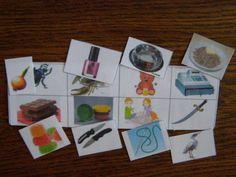 Дидактическая логопедическая игра «Необычное логопедическое лото» Фото