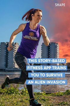 Sometimes you need a little extra motivation to keep up with your fitness goals. Like, say, an alien invasion. Here, learn about this fun story based fitness app! #fitness #motivation