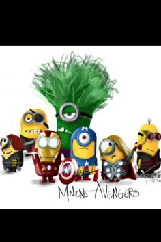 These minions have replaced the real avengers