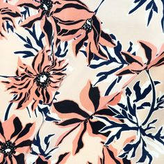 graphic floral by Liz Casella / studio print