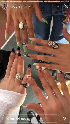 Aycrlic Nails, Swag Nails, Hair And Nails, Milky Nails, Nagellack Design, French Tip Nails, French Tips, French Tip Acrylics, Manicure E Pedicure