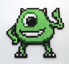 Mike #Monsters Inc #perler beads