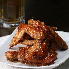 Sweet Soy Chicken Wings Recipe by Tasty