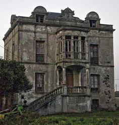 Abandoned in Asturias, Spain.
