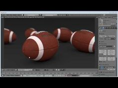Blender 3D: How to model and texture a realistic Football - YouTube