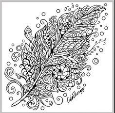 Раскраски|Арт терапия|Зентангл|Дудлинг