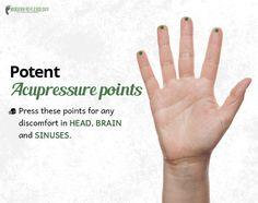 Activate these #Acupressure points for instant relief! #Reflexology #ModernReflexology Visit Here: http://www.modernreflexology.com/