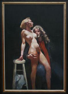 Painter With Samantha  (C) TLF