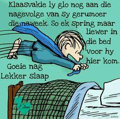 Goeie Nag, Afrikaans, Bedtime, Good Night, Slaap Lekker, Memes, Fun, Life, Snoopy