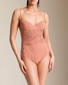 4232e1de16 La Perla Swimwear  Lipari Molded Swimsuit La Perla