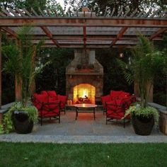 First-rate tall outdoor fireplace on this favorite site