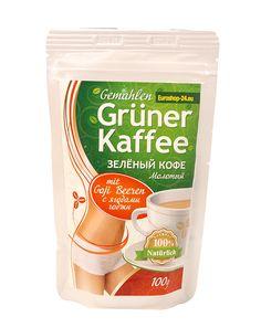 Grüner Kaffee, gemahlen, mit Goji Beeren, 100 g