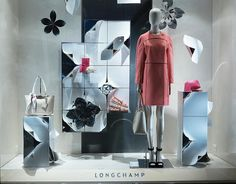 "LONGCHAMP, Paris, France, ""Think Spring"", photo by Windows Wear, pinned by Ton van der Veer"