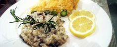 Vegan Gourmet Mushroom Risotto..so many recipes, so little time!