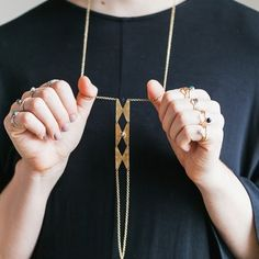 A necklace for badass babes.