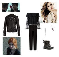 """""""Cassandra (Dead Man's Party) Outfit"""" by starlightpa ❤ liked on Polyvore featuring SET, Acne Studios, Witchery, RED Valentino, GET LOST, shadowhunters and cassandra"""