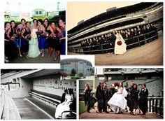 Baseball Wedding at White Sox Park...i'd go to the red sox park if i wanted the wedding at a ball park ;)