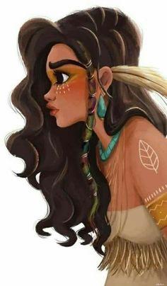 Disney Punk Pocahontas
