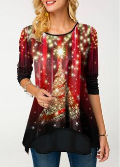 New Arrival | Liligal.com Christmas Tops, Christmas Shirts, Christmas Print, Christmas Snowman, Christmas Clothes, Christmas Fashion, Trendy Tops For Women, T Shirts For Women, Clothes For Women