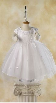 I want this for my baby girls blessing day! How cute!