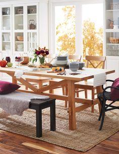 Avec un espace salle à manger aussi invitant, il vous faudra bientôt prendre des réservations.
