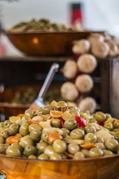 Some delicious olives at the Bonnieux market, it's worth to buy some local cheese and bread to mix with it and reach the perfect provence lifestyle photo by Baráth Mix Levente https://www.facebook.com/mixtremevideos/?fref=ts