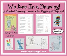 A guided drawing lesson from Mo Willems