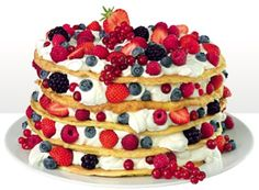 Pannkakor tårta - A receipe I got for my birthday from IKEA =D ... but looks awesome and I still have to try it. =)