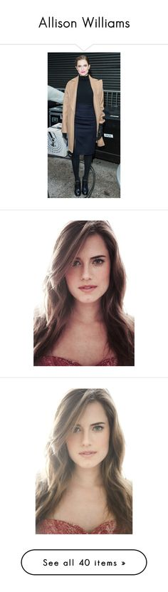 """""""Allison Williams"""" by allhqfashion ❤ liked on Polyvore featuring characters, allison williams and beauty products"""