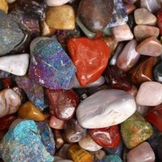 Dye your stones and rocks to use in colorful craft projects.