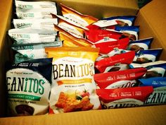 Beanitos!!   New Beanitos!! White bean chips!! Yum!  I love Beanitos! I have Reactive Hypoglycemia and so I try to eat food that is on the low glycemic index. I found these chips one day and loved them!  I have a youtube channel that I speak about Reactive Hypoglycemia and do my best to help others who have it by giving advice and recommending some great foods ...