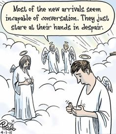 New Angels without mobiles...